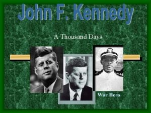 A Thousand Days Differences KENNEDY Charming and talented