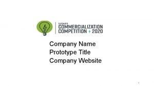 Company Name Prototype Title Company Website 1 BUSINESS