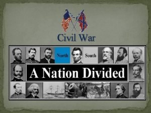 Civil War The American Civil War From 1861