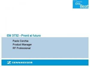 EM 3732 Pronti al futuro Paolo Corchia Product