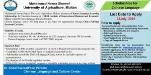 Muhammad Nawaz Shareef University of Agriculture Multan Muhammad