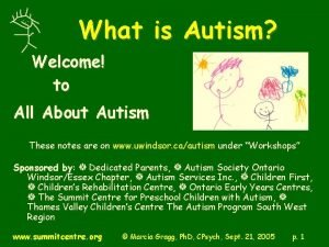 What is Autism Welcome to All About Autism