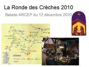 La Ronde des Crches 2010 Balade ARCEP du