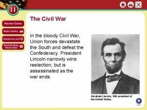 The Civil War In the bloody Civil War