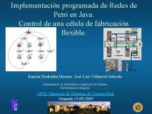 Implementacin programada de Redes de Petri en Java