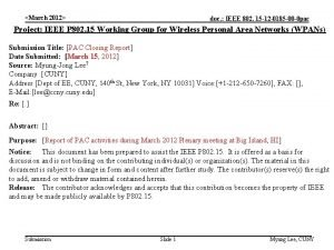 March 2012 doc IEEE 802 15 12 0185