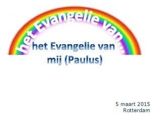 5 maart 2015 Rotterdam terugblik q 1 ste