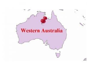 Western Australia WESTERN AUSTRALIA Click on the graphs