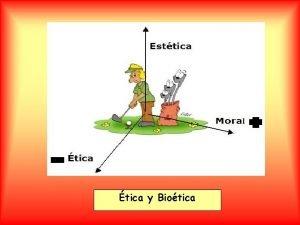 tica y Biotica ETICA MORAL ETHOS MORES CARCTER
