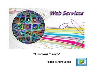 Funcionamiento Rogelio Ferreira Escutia Funcionamiento 2 Objetivo Comunicar