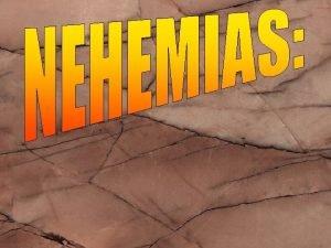 INTRODUCCION DONDE ESTA Nehemas 1 1 4 QUIN
