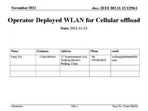 November 2012 doc IEEE 802 11 121258 r