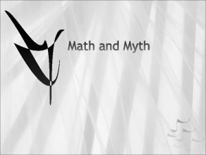 Ever since ancient times math and numbers were