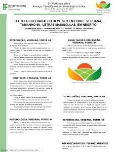 1 Workshop sobre Avanos Tecnolgicos em Bioenergia e