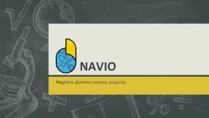 NAVIO Registro alumno nuevos usuarios Registro nuevo alumno