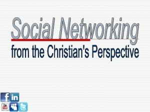 Facebook Social Networking What is it o Social