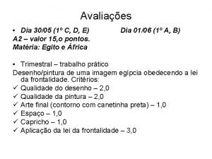 Avaliaes Dia 3005 1 C D E A