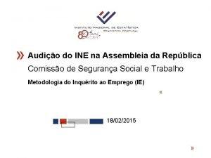 Audio do INE na Assembleia da Repblica Comisso