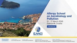 Allergies across the world epidemiology of allergies Dr