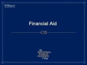 Financial Aid What is Financial Aid Financial aid