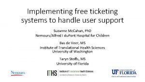 Implementing free ticketing systems to handle user support