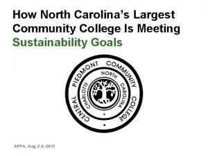 How North Carolinas Largest Community College Is Meeting