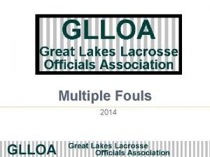 Multiple Fouls 2014 Rule 7 6 1 Simultaneous