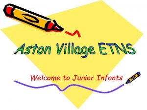 Welcome to Junior Infants School Day School opens