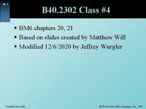 20 1 B 40 2302 Class 4 w