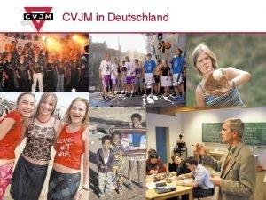CVJM in Deutschland CVJMGesamtverband in Deutschland e V