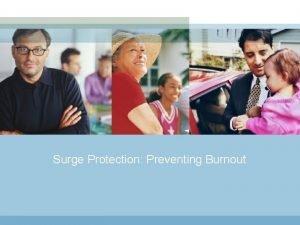 Surge Protection Preventing Burnout Surge Protection Preventing Burnout