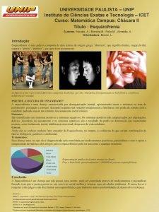 UNIVERSIDADE PAULISTA UNIP Instituto de Cincias Exatas e
