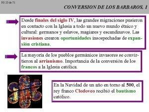 HI 23 de 71 CONVERSION DE LOS BARBAROS
