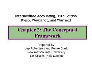 Intermediate Accounting 11 th Edition Kieso Weygandt and