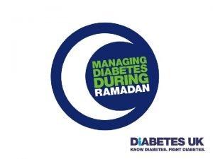 INTRODUCTION TO RAMADAN INTRODUCTION TO RAMADAN Ramadan Sawm