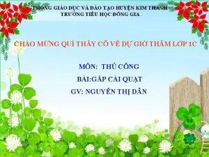 PHNG GIO DC V O TO HUYN KIM