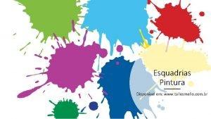 Esquadrias Pintura Disponvel em www tallesmello com br