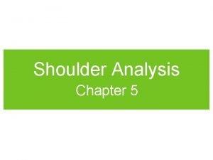 Shoulder Analysis Chapter 5 Shoulder Muscle Exercises Shoulder