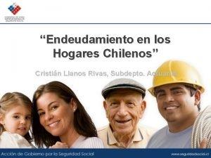 Endeudamiento en los Hogares Chilenos Cristin Llanos Rivas