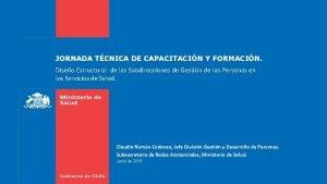 JORNADA TCNICA DE CAPACITACIN Y FORMACIN Diseo Estructural