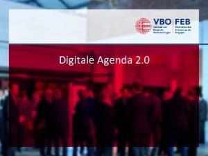 Digitale Agenda 2 0 Digitaal rapport Digitaal rapport