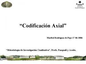 Codificacin Axial Maribel Rodriguez de Pepe 17 06