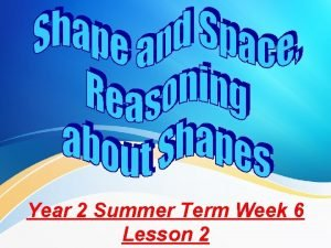 Year 2 Summer Term Week 6 Lesson 2