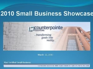 2010 Small Business Showcase March 22 2010 8a
