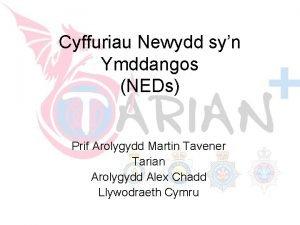 Restricted Cyffuriau Newydd syn Ymddangos NEDs Prif Arolygydd