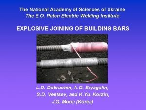The National Academy of Sciences of Ukraine The