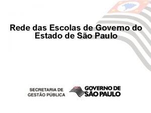 Rede das Escolas de Governo do Estado de