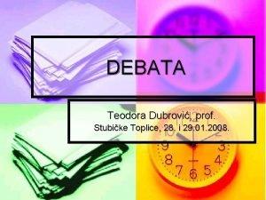 DEBATA Teodora Dubrovi prof Stubike Toplice 28 i
