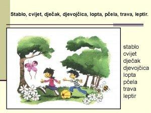 Stablo cvijet djeak djevojica lopta pela trava leptir