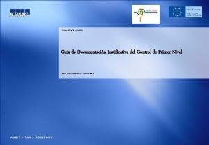 GLOBAL SERVICE INDUSTRY Gua de Documentacin Justificativa del